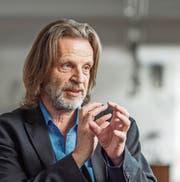 Kraftvoller Erzähler mit Humor: Helge Timmerberg. (Bild: Michel Canonica (22. April 2016))