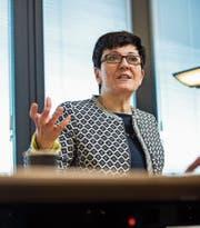 Sie leitet die Anti-Terrorismus-Taskforce Tetra: Fedpol-Chefin Nicoletta della Valle. (Bild: Dominik Wunderli)