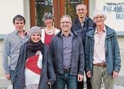 Der Vorstand: Kurt Homberger, Simone Thoma, Maria Barbara Barandun Scherrer, Jens Weber, Daniel Tapernoux und Willy Troxler. (Bild: pd)