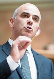 Innenminister Berset erlitt eine Niederlage. (Bild: Anthony Anex/Keystone)
