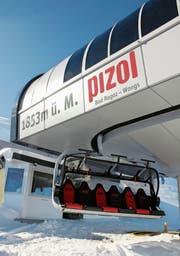Bleiben die Sessel der Pizolbahnen leer, schadet das dem Tourismus. Deshalb wollen der Kanton und die Gemeinden helfen. (Bild: PD)