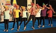 Einer von vielen bekannten Ohrwürmern, die an der Flöser Gala zu Bühnen- und Wasserprogrammteilen eingespielt wurden: «Heigh Ho» von den sieben Zwergen aus Schneewittchen.