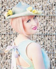 Sara Streule mag es ausgefallen: In ihrem Blog zeigt sie ihren eigenen Stil. (Bild: pd)