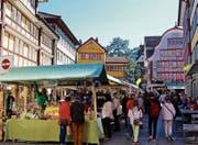 Einer der Höhepunkte der Appenzeller Frühlingstage soll der Markt am Samstag sein. (Bild: PD)