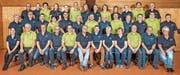 Die Musikgesellschaften Azmoos und Sevelen formieren zur Spielgemeinschaft Azmoos-Sevelen anlässlich des Kreismusiktages in Kirchberg vom 12. Mai 2018. (Bild: PD)
