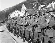 Am 12. März 1938 marschierte die Wehrmacht in Österreich ein. Der sogenannte Anschluss wird vollzogen. (Bild: Keystone)