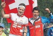 International erfolgreich: Daniel (links) und Martin Hubmann. (Bild: Urs Huwyler)