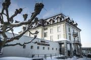 """Das seit Ende August 2016 geschlossene Hotel Walzenhausen wird """"ziemlich sicher"""" nicht mehr in Form eines Hotels eröffnet. (Bild: Ralph Ribi)"""