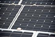 Solarenergie spielt im Rahmen der Energiestrategie eine wichtige Rolle. Im Projekt Smart City Wil sollen aber auch andere Aspekte der Zukunftsentwicklung angesprochen werden. (Bild: Urs Jaudas)