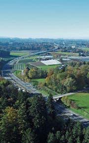Die Region Rorschach soll besser ans Nationalstrassennetz angebunden werden. (Bild: M. Muttner)