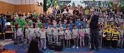 Kindergärtler und Schüler zeigen das Dschungelbuch (Bild: PD)