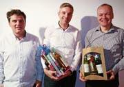 Oliver Kesseli, Michael Schöb und Thomas Rehmann (von links). (Bild: PD)