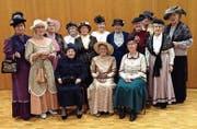 Sorgt am Samstag für Folklore: das Nostalgiechörli Berg. (Bild: PD)