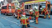 Die Feuerwehren der Region bemühen sich um Nachwuchs. Um die Sicherheit zu gewährleisten, arbeiten sie teilweise mit anderen Feuerwehren zusammen. (Bild: Hansruedi Rohrer)