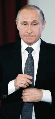 Wladimir Putin soll ein Vermögen von 40 Milliarden Dollar besitzen. (Bild: ap/Sergei Chirikov)