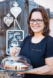 Bea Lippuner stellt grossartige Kunstwerke aus Zucker her. (Bild: Mareyke Frehner)