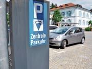 Über zwei Vorlagen betreffend Parkieren muss in Herisau befunden werden. (Bild: PD)