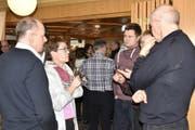 Nach der Hauptversammlung wurden angeregte Gespräche unter Berufskollegen und Berufskolleginnen geführt. (Bild: Heidy Beyeler)