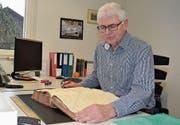 28. Februar: Heinz Müller, der langjährige Grundbuchverwalter der Gemeinde Wildhaus-Alt St. Johann, geht in Pension. (Bild: Adi Lippuner)
