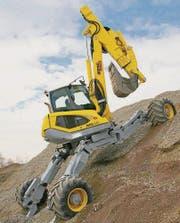 Der Bauboom bescherte Menzi Muck ein erfolgreiches Jahr. (Bild: pd)