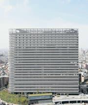 Das Kühlsystem des Sony City Osaki Building in Tokio wirkt wie ein natürlicher Wald. (Bild: Yutaka Suzuki)