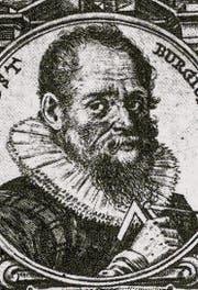 Jost Bürgi (1552–1632) auf einem Kupferstich von 1619. (Bild: pd)