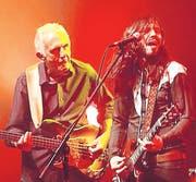 Die beiden Neuen bei Ten Years After: Bassist Colin Hodgkinson und Frontmann Marcus Bonfanti. (Bild: Barbara Hettich)