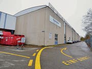 Produktionshalle der AFG-Geschäftseinheit Kühltechnik gegenüber dem Seeparksaal. (Bild: Max Eichenberger)