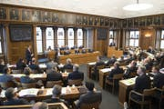 Am Montag tagt der Ausserrhoder Kantonsrat. (Bild: Ralph Ribi)