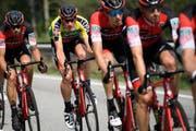 Die Tour de Suisse macht im Juni Halt in Frauenfeld. (Bild: GIAN EHRENZELLER (KEYSTONE))