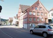 Einst eine Beiz, jetzt Sitz der Gemeindeverwaltung und künftig vielleicht ein heimeliges Restaurant: das «Schäfli» in Waldstatt. (Bild: Bruno Eisenhut)