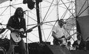 Musikgrössen wie Status Quo rockten das erste Open Air. (Bild: pd/Andreas Anderegg)