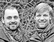 Tom Strobl und Claudio Sedivy Biologen und Gründer von Wildbiene + Partner (Bild: pd)