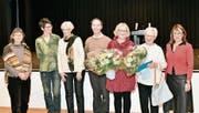 Die Solidaritätsgruppe Sevelen erhält den 3. Prix Benevol (Bild: Heini Schwendener)