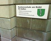 Wirtschaftsmittelschule: Der Standort in St. Gallen bleibt erhalten. (Bild: Ralph Ribi)