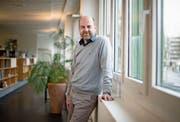 Beruflich hat er sich schon eingelebt, privat sucht Bernd Nilles noch nach ein paar Fussballfreunden. (Bild: Corinne Glanzmann (Luzern, 9. Februar 2018))