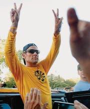 Lance Armstrong: «Der grösste Radfahrer aller Zeiten» im Doping-Sumpf versunken, aber ohne Reue. (Bild: ap/Graham Hughes)