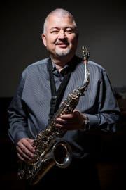 Andreas Übleis spielt in der Musikgesellschaft Sennwald, ist aber auch in Formationen mit anderen Stilrichtungen in Nachbarländern aktiv. (Bild: Mareycke Frehner)