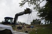 Nach dem diesjährigen Open Air blieben 200 Tonnen Abfall im Sittertobel liegen.