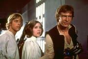 Luke Skywalker, Prinzessin Leia und Han Solo. (Bild: ky)