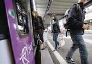 22,7 Millionen Passagiere nutzten 2008 im Thurgau die Bahn. (Bild: Urs Jaudas)
