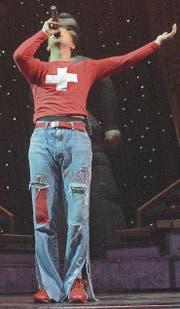 DJ Bobo macht schweizerischen Eurodance für die grosse Welt, und das seit 25 Jahren. (Bild: Dorothea Müller/KEY (Zürich, 2. November 2003))