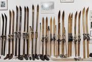 Verschollen: Exponate des Skimuseums von Noldi Beck. (Bild: Christoph Ruckstuhl/NZZ (Vaduz, 2. Februar 2014))