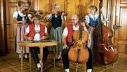 Die Brandhölzler Striichmusig ist die einzige Toggenburger Streichmusik in Originalbesetzung. (Bild: PD)