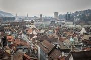 Noch Ende des 20. Jahrhunderts wetteiferte St.Gallen punkto Grösse und Ausstrahlung stets mit dem 60 Kilometer entfernten Winterthur. (Bild: Benjamin Manser)