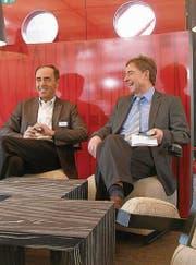 «Mehr Freude als bloss Freude», schwärmte Verwaltungsratspräsident Walter Sommer gegenüber Direktor Walter Herrmann.