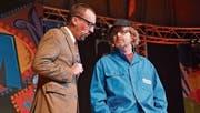 Ralf Frei und Markus Frei sind «Die Aufklärer». (Bild: Mathias Frei)