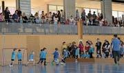 Die zahlreichen Zuschauer bereuten ihr Kommen nicht. Denn die jungen Kicker zeigten in ihren Partien engagierte Leistungen und schossen schöne Tore. (Bild: PD)