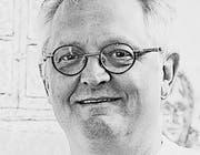 Mark Staff Brandl Kunsthistoriker und Künstler aus Trogen (Archivbild: Ralph Ribi)