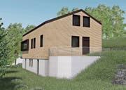 So soll das Pfadiheim nach dem geplanten Umbau aussehen.